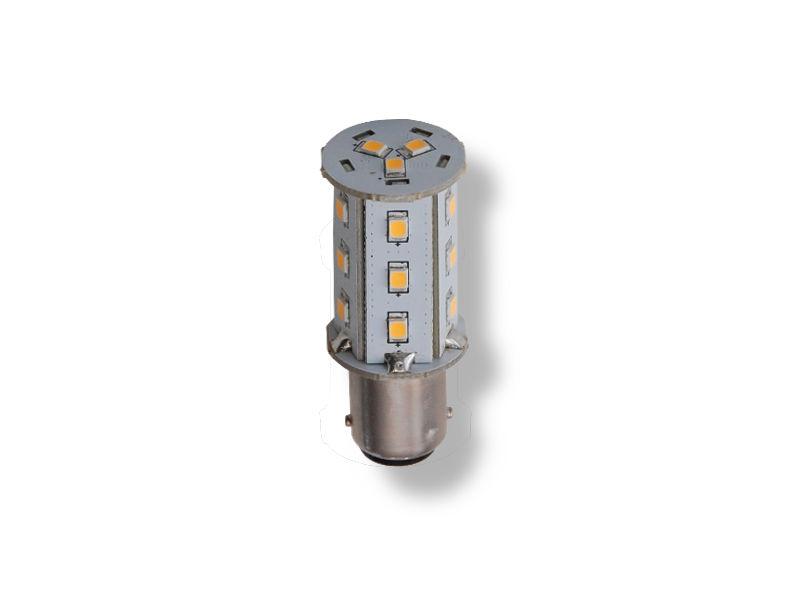 LED Leuchtmittel Lampe Ba15d 2.4W 10-24V 3000K
